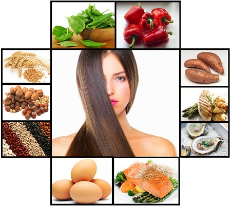 Nutritious Foods Hair Loss Prevention
